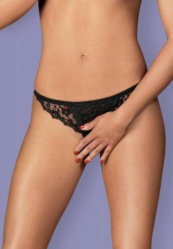 Stringi Obsessive Latica Crotchless Thong