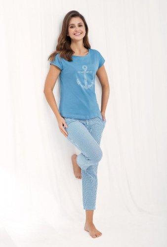 Piżama Luna 475 kr/r M-2XL damska