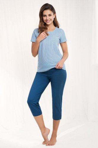 Piżama Luna 483 kr/r 4XL damska
