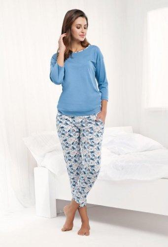 Piżama Luna 488 3/4 3XL damska
