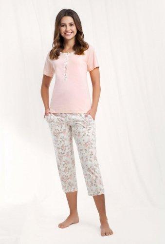 Piżama Luna 442 kr/r 4XL damska