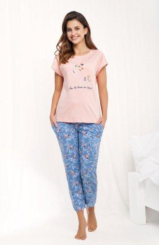 Piżama Luna 484 kr/r 4XL damska