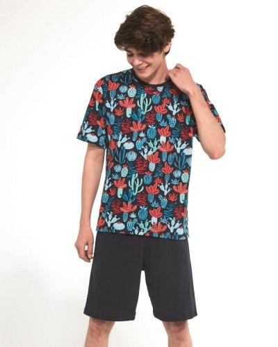 Piżama Cornette F&Y Boy 265/33 Cactus kr/r 164-182