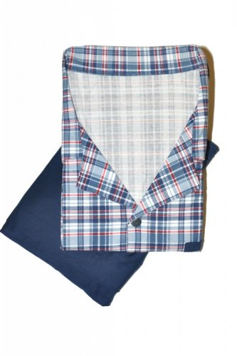 Piżama Cornette 318/38 kr/r S-2XL Rozpinana męska