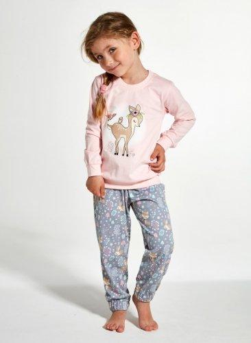 Piżama Cornette Kids Girl 594/122 Roe dł/r 86-128