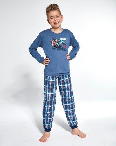 Piżama Cornette Kids Boy 593/112 Need For Speed dł/r 86-128