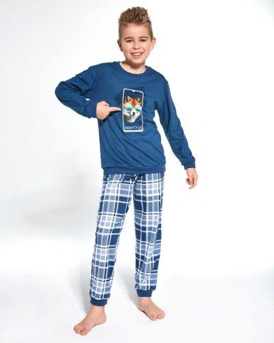 Piżama Cornette Young Boy 966/107 Smartfox dł/r 134-164