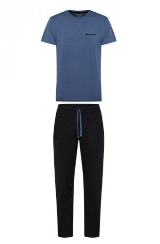 Piżama Henderson 38365 Zing kr/r M-3XL męska