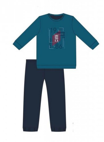 Piżama Cornette F&Y 999/41 Bronx dł/r S-XL