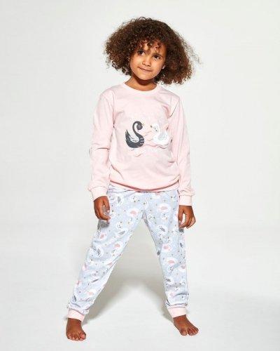 Piżama Cornette Kids Girl 387/143 Swan 2 dł/r 86-116