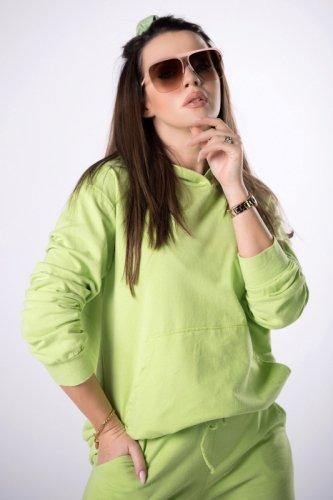 dresowa bluza z printem