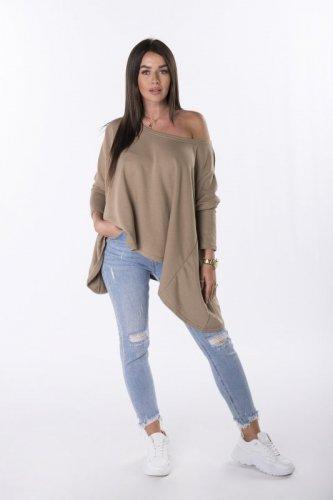 bluza z wydłużonymi bokami