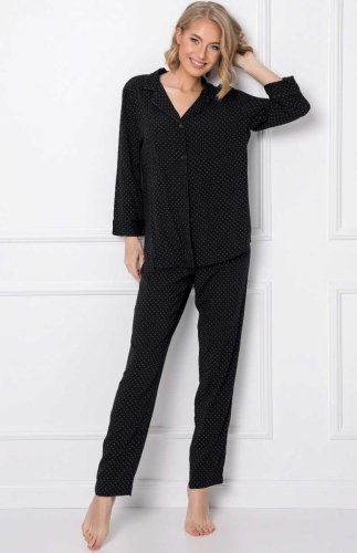 Rozpinana piżama damska Aruelle Berthine Long