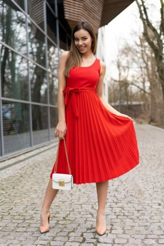 Sukienka Meratin D07 Red
