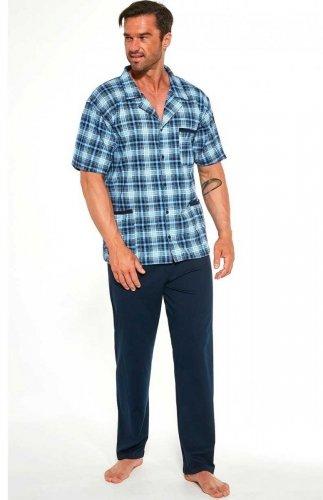 Piżama męska rozpinana Cornette 318/43 3XL-5XL