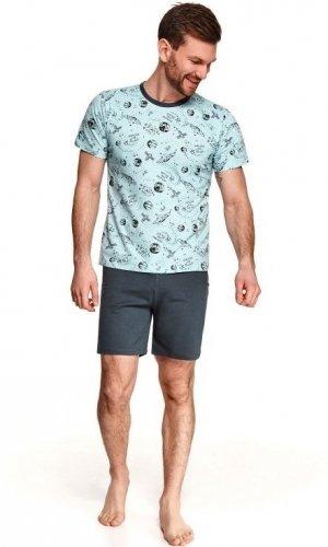 Piżama Taro Max 072 kr/r S-2XL L'21