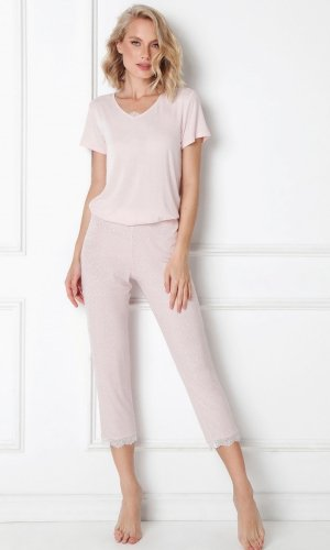 Piżama Aruelle Nancy Long kr/r XS-2XL
