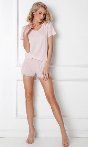 Piżama Aruelle Nancy Short kr/r XS-2XL