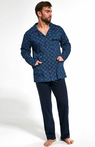 Piżama męska rozpinana Cornette 114/47