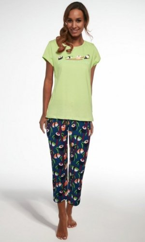 Piżama Cornette 665/188 Sushi 3 trzyczęściowa damska