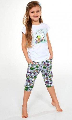 Piżama Cornette Kids Girl 487/84 Bunny kr/r 86-128