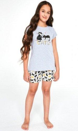 Piżama Cornette Kids Girl 787/87 Cats kr/r 86-128