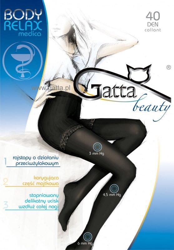 Rajstopy Gatta Body Relax Medica 40 den 5-XL