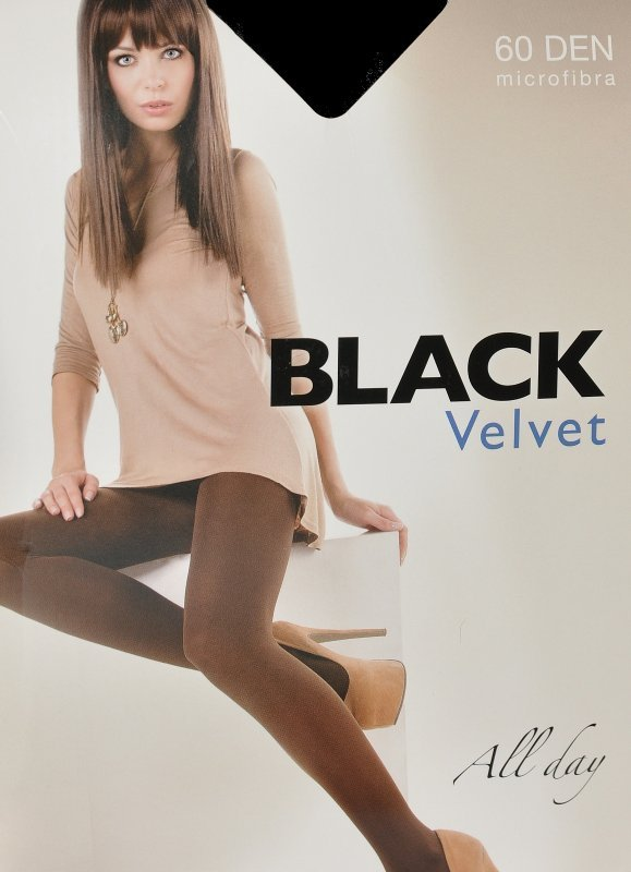 Rajstopy Egeo Black Velvet 60 den 2-4