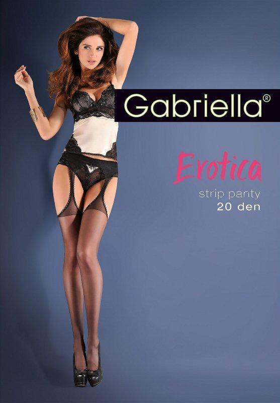 Rajstopy Gabriella Erotica Gabriela Strip Panty 235