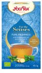 YOGI TEA Czysta świeżość PURE FRESHNESS z olejkami eterycznymi