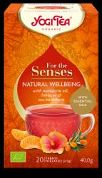 YOGI TEA Szczęście z natury NATURAL WELLBEING z olejkami eterycznymi