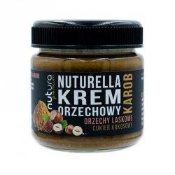 Nuturella - krem orzechowy z dodatkiem karobu, Nutura, 190g