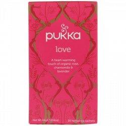 Herbata Love - Pukka, 20 saszetek