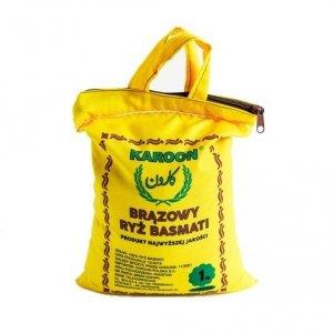 Ryż basmati brązowy 1kg, Karoon