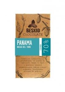Czekolada ciemna 70% Panama, 50g, Beskid Chocolate