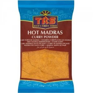 Hot madras curry TRS 100g