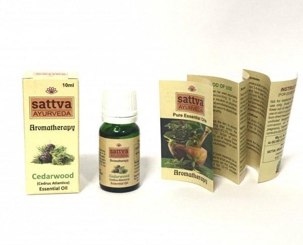 Cedrowy olejek eteryczny Sattva 10ml