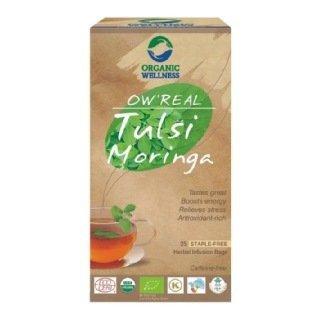 Herbata organiczna Tulsi Moringa