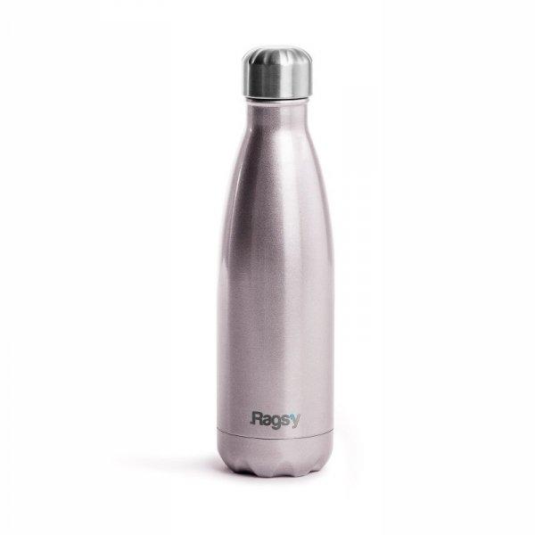 Butelka termiczna Rags'y - Silver Rose, 500ml