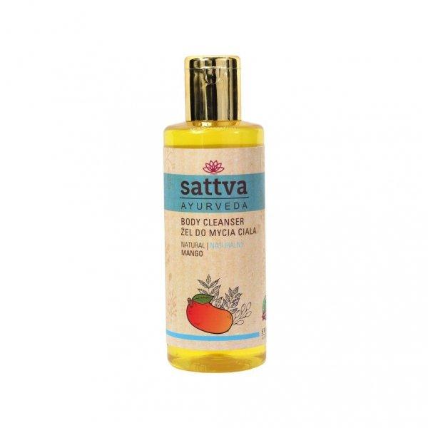 Żel do mycia ciała mango, Sattva 210ml
