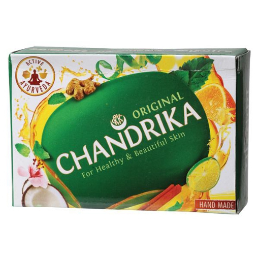 Ajurwedyjskie mydło Chandrika z imbirem i limonką 75 g