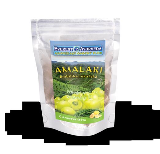 Suszone owoce Amli - Amalaki z trawą cytrynową
