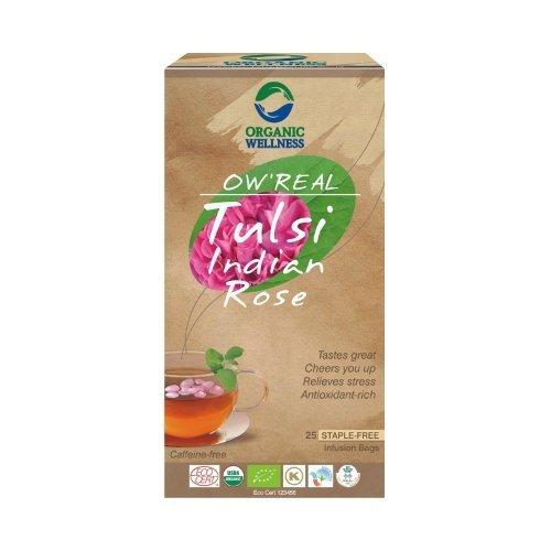 Herbata organiczna Tulsi Indian Rose