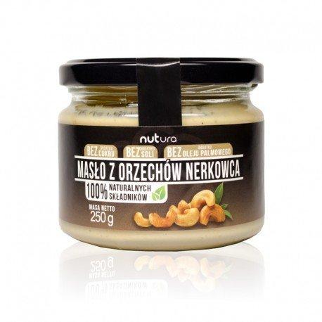 Masło z orzechów nerkowca, Nutura, 250g