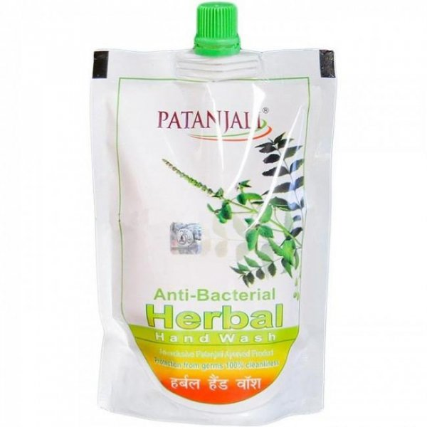 Antybakteryjne mydło ziołowe w płynie Patanjali 200ml