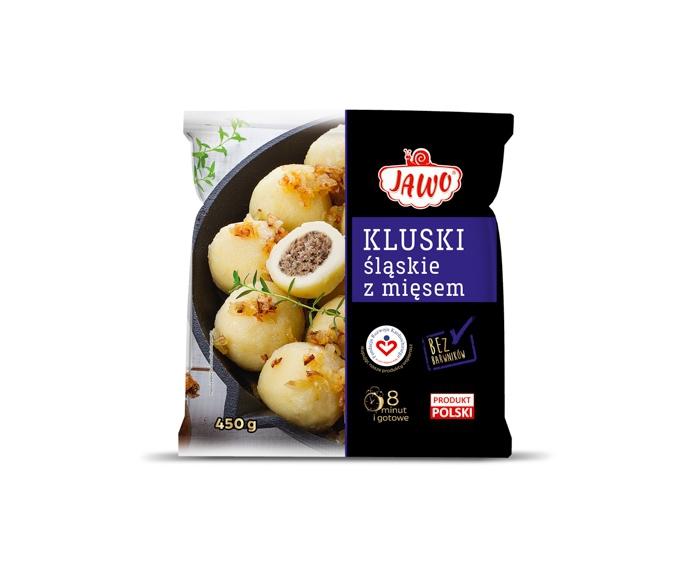 [JAWO] Kluski śląskie z mięsem 450g 10 szt w kartonie