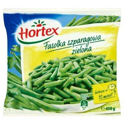 [HORTEX] Fasola szpr.ziel. cięta 450g14szt