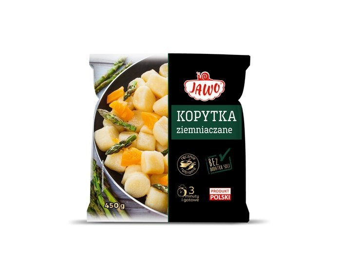 [JAWO] Kopytka ziemniaczane 450g 10 szt w kartonie
