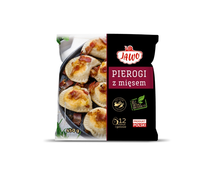 [JAWO] Pierogi z mięsem 450g/ 10
