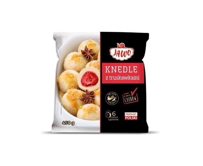 [JAWO] Knedle z truskawkami 450g 10 szt w kartonie
